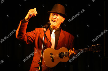 Editorial picture of Hank Wangford -  'The Shed on Tour' at Weaverthorpe Village Hall, in North Yorkshire, Britain - 13 Oct 2011