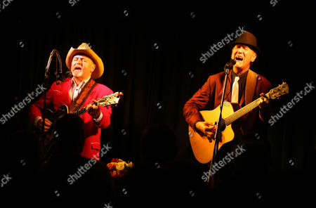 Editorial photo of Hank Wangford -  'The Shed on Tour' at Weaverthorpe Village Hall, in North Yorkshire, Britain - 13 Oct 2011