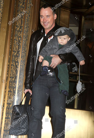 Editorial picture of Elton John and David Furnish out and about in New York, America - 27 Oct 2011