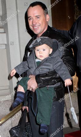 David Furnish and son Zachary Jackson Levon Furnish-John