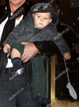 Editorial image of Elton John and David Furnish out and about in New York, America - 27 Oct 2011