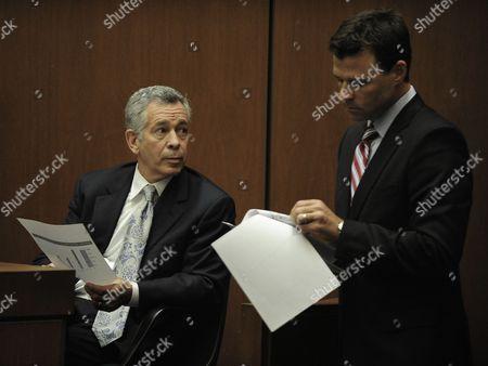 Dr. Robert Waldman and Deputy District Attorney David Walgren