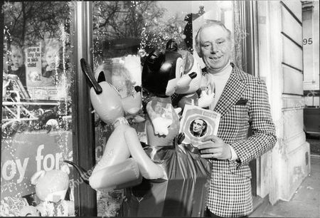 Actor Patrick Cargill With Gifts For Evening News's Toy For A Sick Child Campaign 1973.