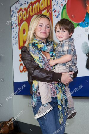 Sandi Lee-Hughes and son, Tommy