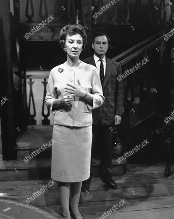 Stock Photo of 'The Sound of Murder' - Patricia Jessel and Conrad Phillips