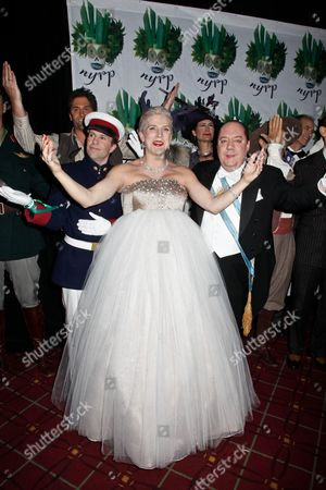 Editorial image of Annual Hulaween Benefit Gala, Waldorf Astoria, New York, America - 28 Oct 2011