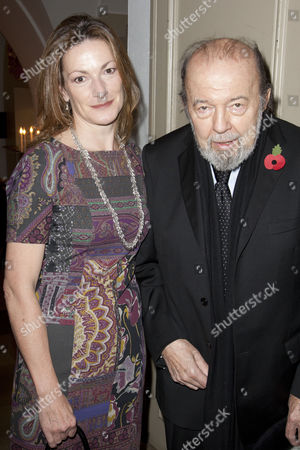 Stock Picture of Nikki Frei and Sir Peter Hall