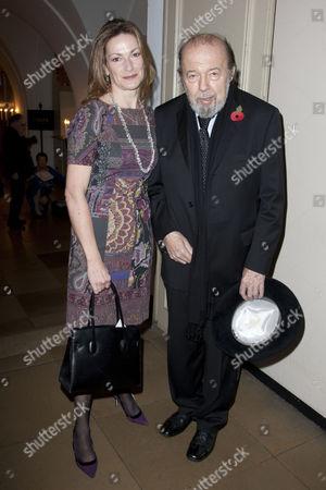 Nikki Frei and Sir Peter Hall