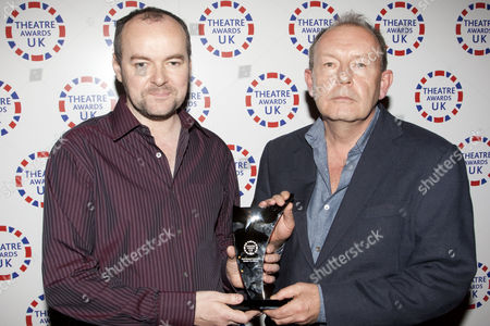 Dennis Kelly and Michael Boyd accept the award for Best Musical Production