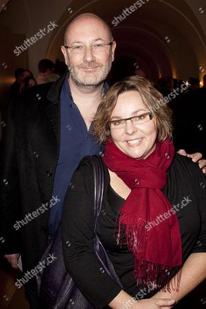 Stephen Russell and Anna Mackmin