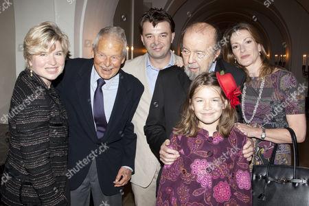 Editorial image of Theatre Awards UK, London, Britain - 30 Oct 2011