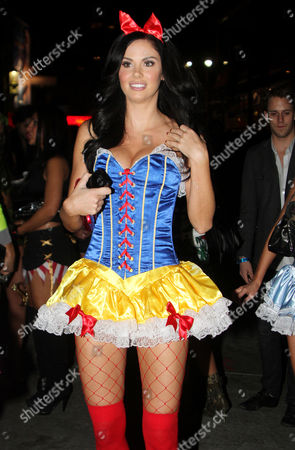 Editorial image of Celebrities Leaving Halloween Party, Beverly Hills, Los Angeles, America - 29 Oct 2011