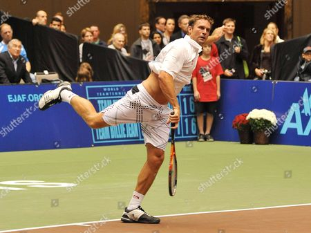 Editorial picture of World Team Tennis Smash Hits, Cleveland, Ohio, America - 27 Oct 2011