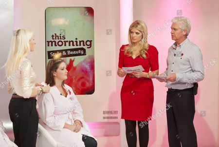 Liz Beckett, Phillip Schofield and Holly Willoughby