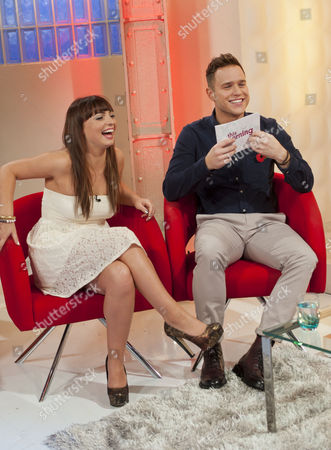 Sophie Habibis and Olly Murs