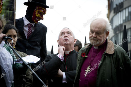 Dean of St Paul's the Right Reverend Graeme Knowles, and Bishop of London the Right Reverend Richard Chartres