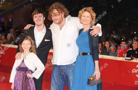 Isabella Blake Thomas, Cameron Bright, Vincent Lannoo and Astrid Whetnall