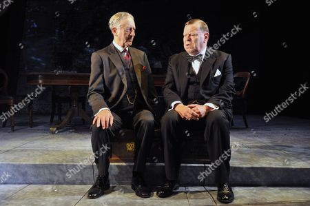 'Three Days in May' - Jeremy Clyde (Lord Halifax) and Warren Clarke (Winston Churchill)