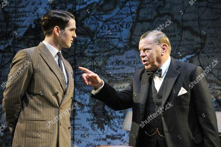'Three Days in May' - James Alper (Jock Colville) and Warren Clarke (Winston Churchill)