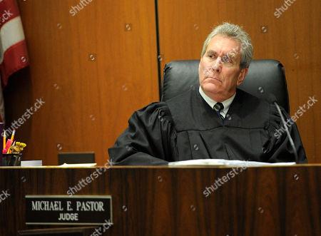 Stock Photo of Judge Michael E Pastor