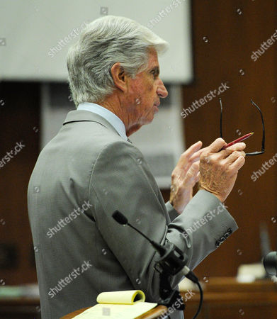 Stock Photo of Defence Attorney J. Michael Flanagan