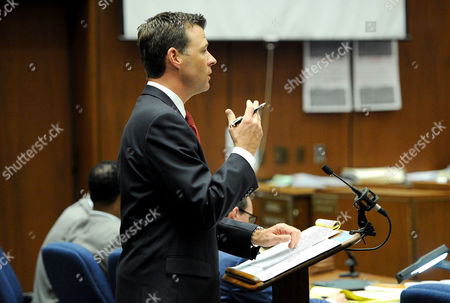 Deputy District Attorney David Walgren speaks during rebuttal testimony