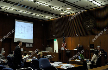 Deputy District Attorney David Walgren questions Dr Stephen Shafer