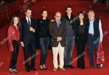 Debra Winger, Pierre Thoretton, Carmen Chaplin, Ennio Morricone, Roberto Bolle, Lord David Puttnam and Susanne Bier