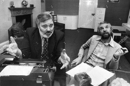 Alan Simpson (left) And Ray Galton Scriptwriters