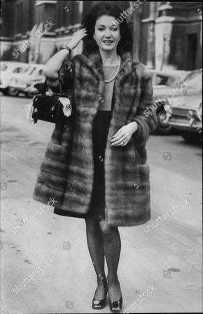 Actress Zena Marshall. Divorce Story.