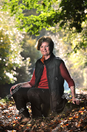 Editorial photo of Fiona Reynolds, Director General of The National Trust, near her home in Cirencester, Gloucestershire, Britain - 28 Oct 2011