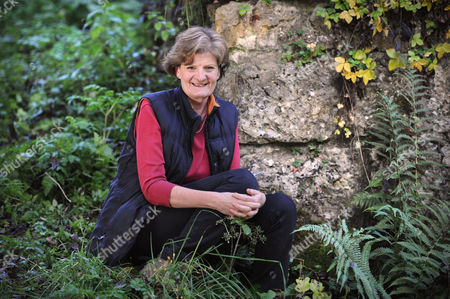 Editorial image of Fiona Reynolds, Director General of The National Trust, near her home in Cirencester, Gloucestershire, Britain - 28 Oct 2011
