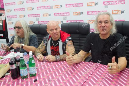 Mick Box, Russell Gilbrook and Phil Lanzon