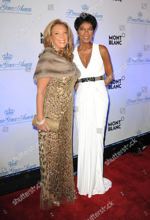 Denise Rich and Natalie Cole
