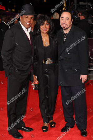 Tito Jackson, Rebbie Jackson and David Gest
