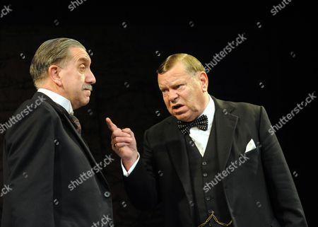 'Three Days in May' - Robert Demeger as Neville Chamberlain, Warren Clarke as Winston Churchill
