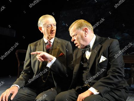 'Three Days in May' - Jeremy Clyde as Lord Halifax, Warren Clarke as Winston Churchill