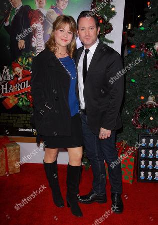 Jenny Robertson and Thomas Lennon