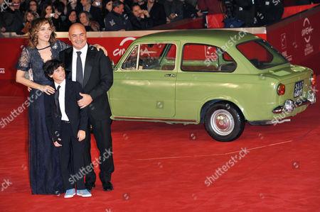 Editorial image of 'La Kryptonite Nella Borsa' film premiere at the 6th International Rome Film Festival, Italy - 02 Nov 2011