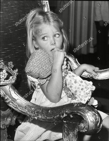 Stock Image of Emma Mason Winner Of Miss Pears 1981.