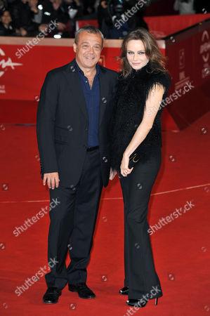 Claudio Amendola and Francesca Neri