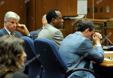 Editorial image of Dr Conrad Murray trial, Los Angeles, America - 03 Nov 2011