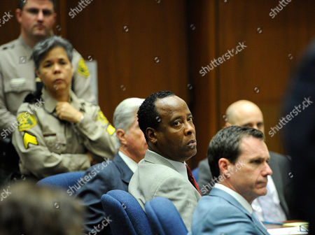 Editorial picture of Dr Conrad Murray trial, Los Angeles, America - 03 Nov 2011