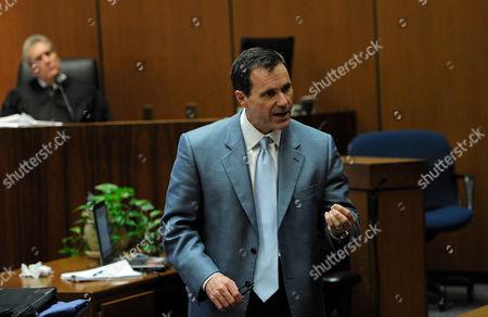 Editorial photo of Dr Conrad Murray trial, Los Angeles, America - 03 Nov 2011