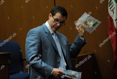 Editorial image of Dr Conrad Murray trial, Los Angeles, America - 03 Nov 2011