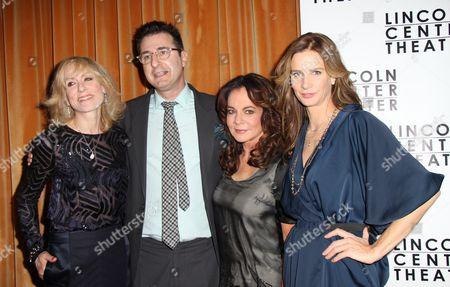 Judith Light, Jon Robin Baitz, Stockard Channing, Rachel Griffit