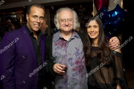Lance Ellington, Carl Davis and Mirelle Ellington