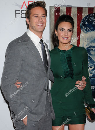 Armand Hammer and Elizabeth Chambers