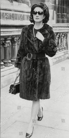 Actress Zena Marshall.