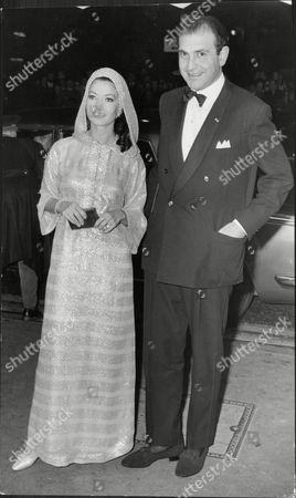 Ardeshir Zahedi Iranian Ambassador And Zena Marshall.